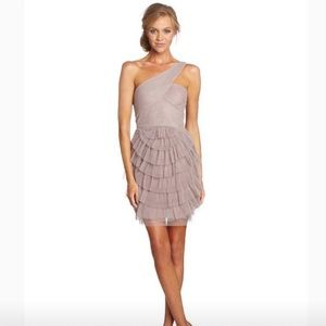 BCBG Maxazria Ella Dress (One shoulder)